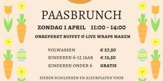 Paasbrunche 1 april 2018