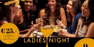 Ladies Night | 9 november 2017