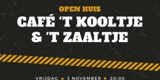 Opening café ''t Kooltje' | 3 november 2017